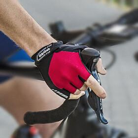 GripGrab ProGel Krótkie wyściełane rękawiczki rowerowe, red